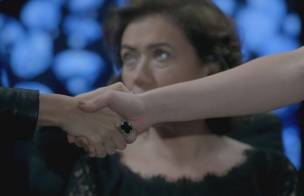 Em destaque o anel usado por Maria Clara, escolhido pelos internautas em votação online (Foto: Divulgação/TV Globo)