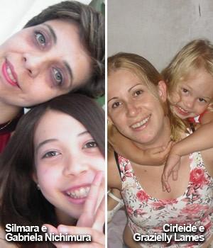 'Mães orfãs' contam como será o Dia das Mães sem as filhas (Arquivo Pessoal/Silmara Nichimura e Cirleide Lames)