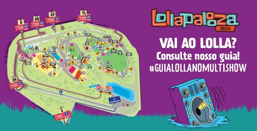 mapa-lolla (Foto: multishow)