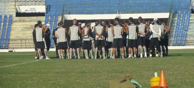 Treino do Treze no Estádio Amigão (Foto: Divulgação / Treze)