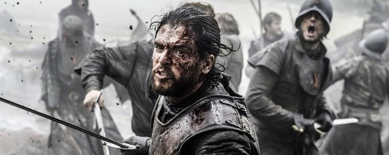 """""""Batalha dos Bastardos"""" em 'Game of Thrones' (Foto: Divulgação)"""