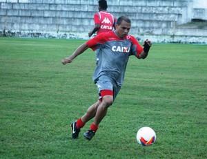 Marcelo Maciel, atacante do América-RN (Foto: Canindé Pereira/Divulgação)