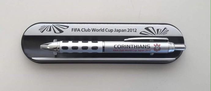 Caneta Corinthians (Foto: reprodução / Twitter)