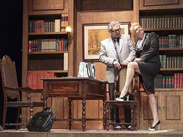 José Rubens Chachá e Suzy Rêgo juntos pela primeira vez nos palcos (Foto: Otávio Dias)