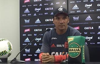 """Zé Ricardo mantém Fla na briga pelo título: """"Não vamos dar de bandeja"""""""