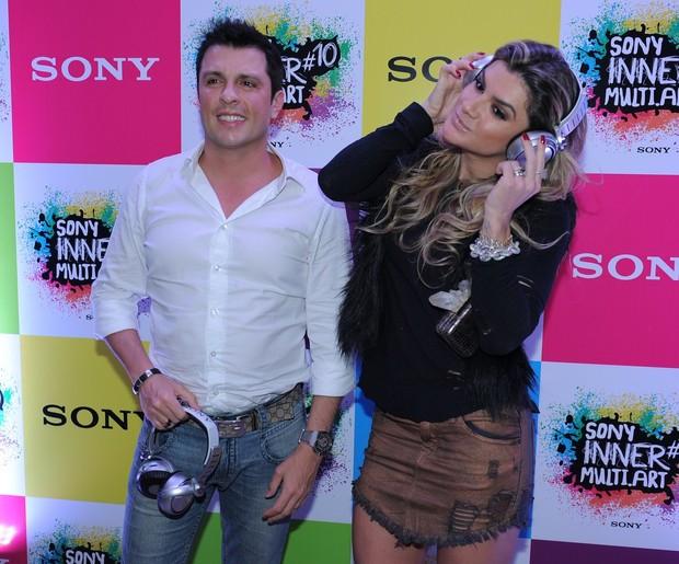 Ceará e Mirella Santos (Foto: Francisco Cepeda/ AGNEws)