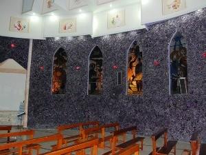 Igreja Ametista do Sul RS Nossa Terra (Foto: Prefeitura de Ametista do Sul/Divulgação)