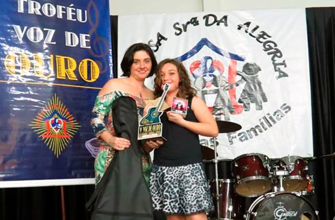 Pérola Crepaldi The Voice Kids (Foto: Arquivo pessoal)