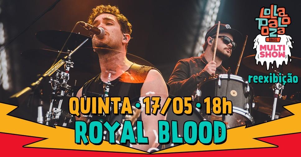 Multishow reexibe o show da banda Royal Blood  nesta quinta (17), s 18h (Foto: Divulgao/Multishow)