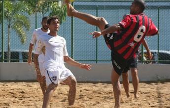 Botafogo goleia Brasil de Pelotas na Pré-Copa Brasil de futebol de areia