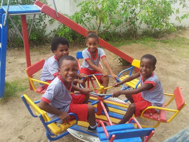 Projeto contribui para o desenvolvimento e alegria das crianças (Foto: Divulgação)