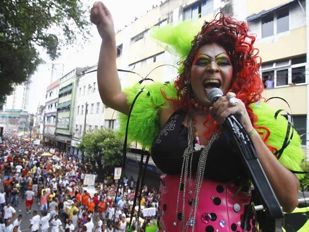 Parada Gay (Foto: Lúcio Távora/Agência A Tarde/AE)