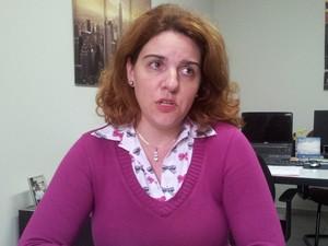 A empresária Andreza Chieregatto Sanches acredita que empregada será uma raridade (Foto: Fernanda Zanetti/G1)