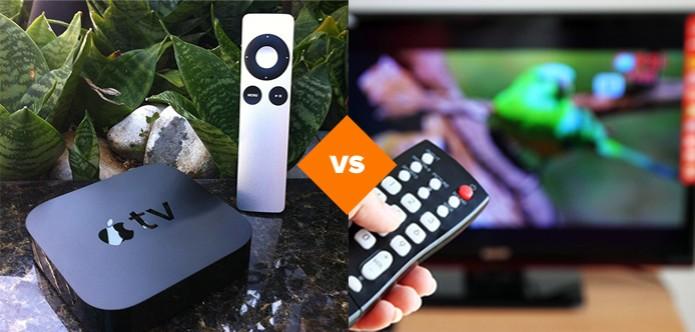 Apple TV ou Smart TV: qual é o melhor? (Foto: Arte/ TechTudo)