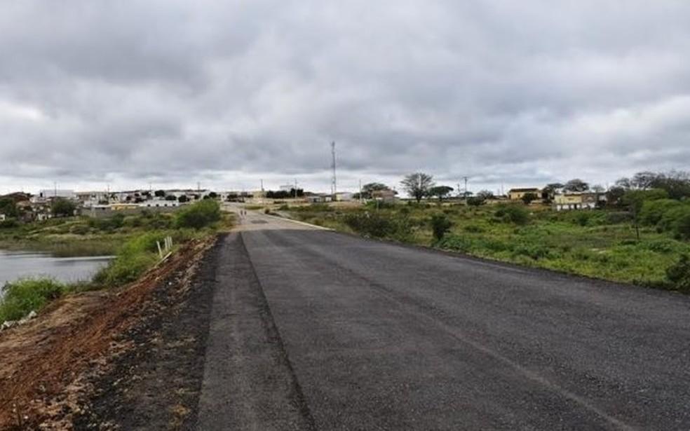 Trecho da Rodovia do Repente (Foto: Divulgação/DER)