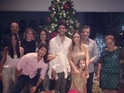 Em família: Kaká e Carol Celico passam a noite de Natal juntos