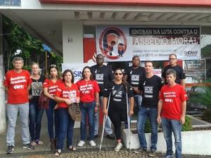 Sindicato dos bancários recebeu denúncia de assédio moral por parte de gerente (Foto: Divulgação/Sindicato dos bancários)