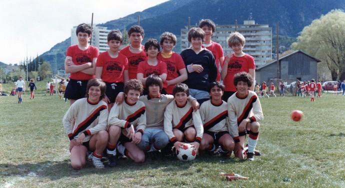 Gianni Infantino o segundo (em baixo à esquerda) (Foto: Divulgação / Arquivo pessoal)