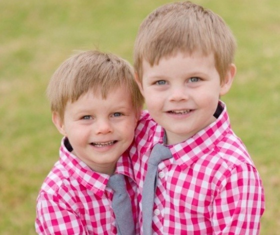 Christian e Connor hoje, aos 4 anos (Foto: Reprodução / Crowdrise)