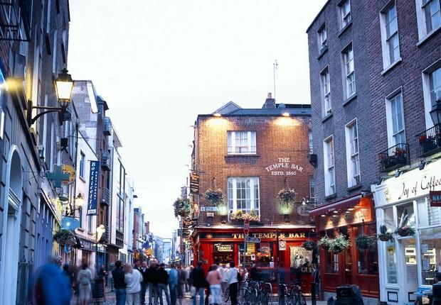 Street scene in temple bar, Dublin, Ireland (Foto: Getty Images)