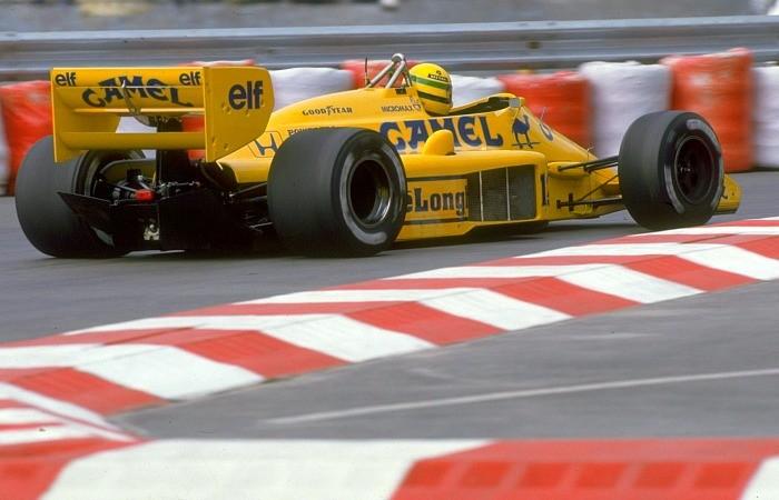 Ayrton Senna no GP de Mônaco de 1987