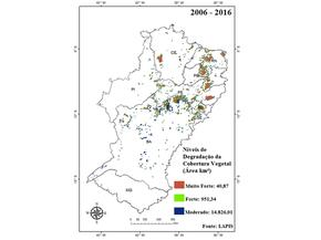 Lapis mapeou a desertificação no Semiárido com monitoramento por satélite durante 10 anos (Foto: Reprodução/Lapis/INSA)