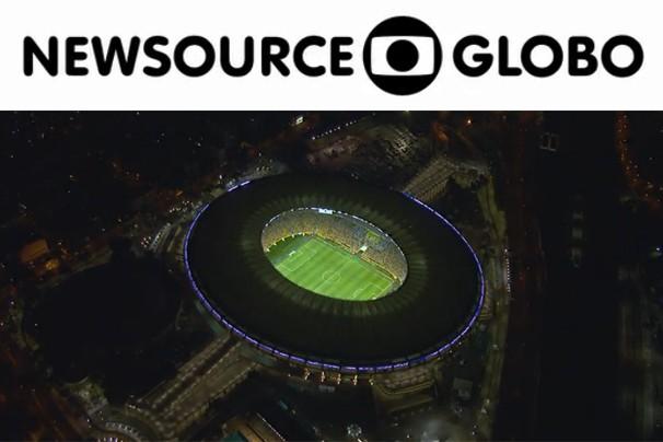 A Newsource Globo e a Associated Press se unem para oferecer às TV internacionais serviços nos grandes eventos, incluindo a Copa do Mundo (Foto: Globo)