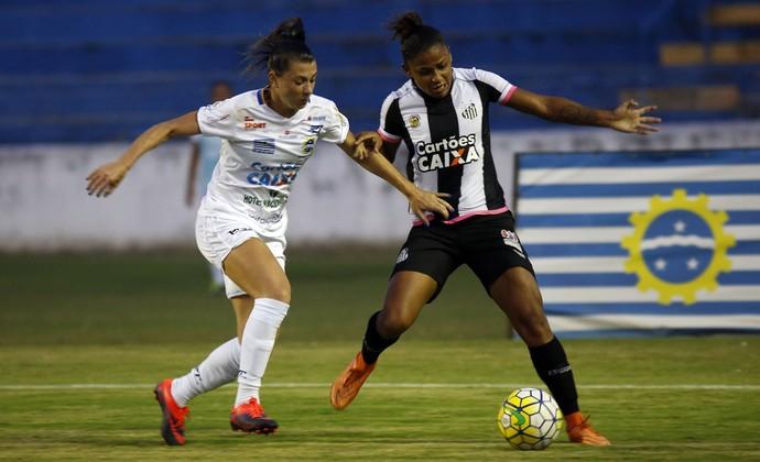 São José Futebol Feminino x Santos - Campeonato Brasileiro de Futebol Feminino (Foto: MARCOS DE PAULA/ALLSPORTS)