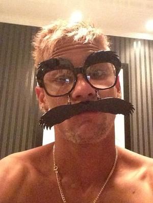 Neymar máscara (Foto: Reprodução / Instagram)