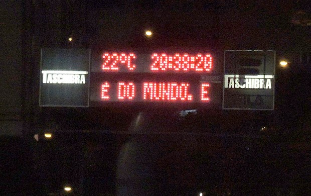 Flamengo Campanhas do sócio-torcedor jogo Náutico (Foto: Cahê Mota)