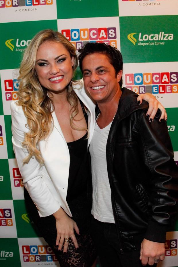 Ellen Roche e Thammy Miranda (Foto: Marcos Ribas/Photo Rio News)