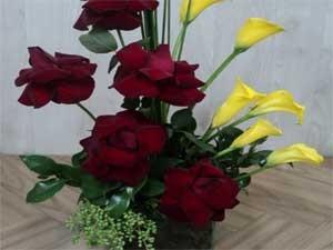 Arranjo de flores, sugestão de presente para o Dia dos Namorados (Foto: Divulgação/Sind.Flores e Plantas de SP)