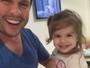 Valentina, filha de Ceará e Mirella Santos, diz que a mãe é 'Barriguda'