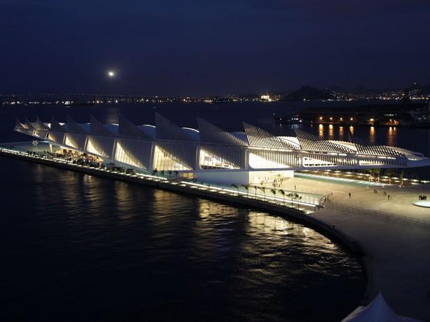 Museu do Amanhã foi inaugurado nesta quinta-feira (17) (Foto: Ricardo Cassiano / Prefeitura do Rio)