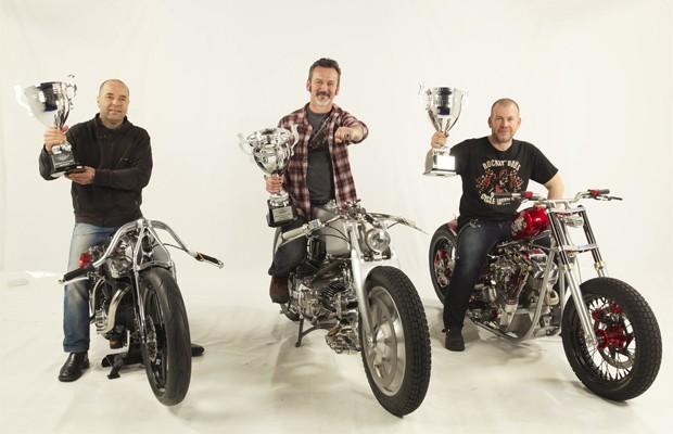Top 3 do mundial de customização de motos em 2013 (Foto: Divulgação)