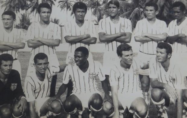 Silva quando começou no CRB (Foto: Arquivo/Museu dos Esportes)