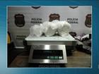 Brasileira é presa com metanfetamina escondida em mala em Cumbica