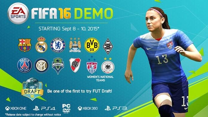 Fifa 16 divulga data e times presentes na Demo (Foto: Divulgação/EA Sports) (Foto: Fifa 16 divulga data e times presentes na Demo (Foto: Divulgação/EA Sports))