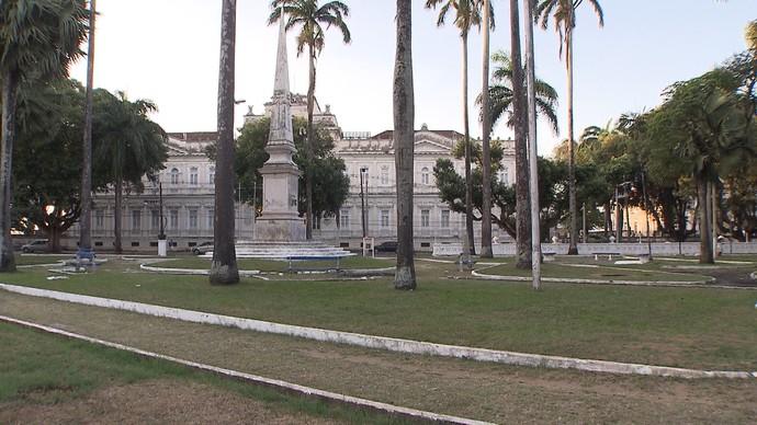 A segunda novidade é a série que mostra os monuentos de Salvador (Foto: TV Bahia)