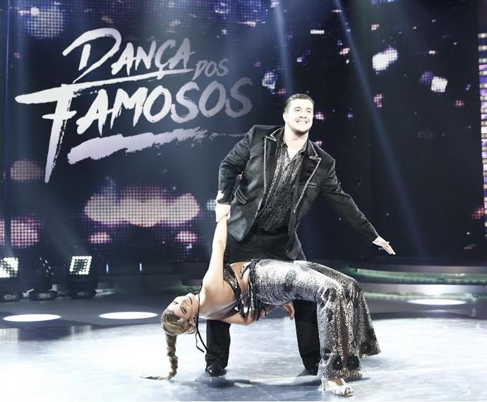 Bruno mostra empolgação na estreia da competição (Foto: Inácio Maraes/Gshow)