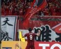 Elkeson marca, dá duas assistências  e Shanghai SIPG vence pelo Chinês