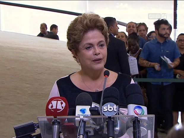GNEWS Dilma (Foto: GloboNews)