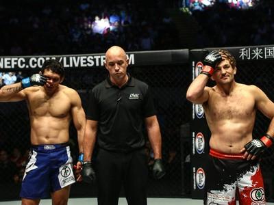 Luís Sapo Ben Askren One Championship 26 MMA (Foto: Reprodução/Facebook)