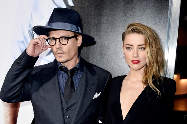 Johnny Depp e Amber Heard. (Foto: Getty Images)
