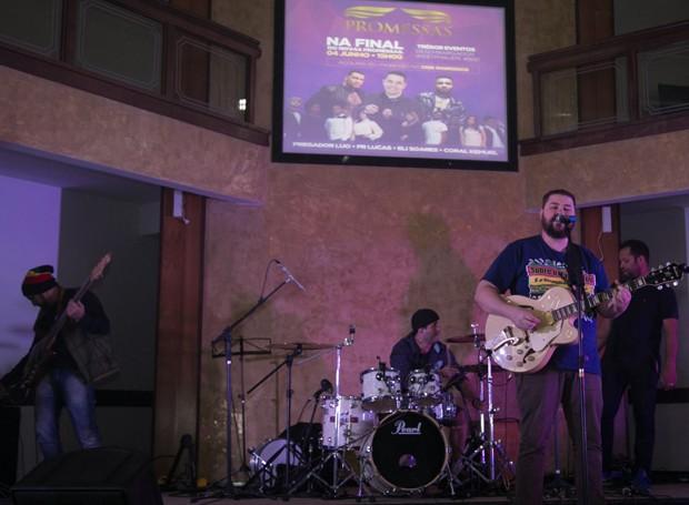 Israel Pienegonda trouxe um pouco de reggae para o público (Foto: Fotográfia Impact Filmes)