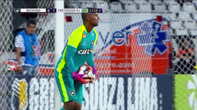 p  C aacute ssio impede o contra-ataque do Botafogo e arrisca de 972604c5260fd