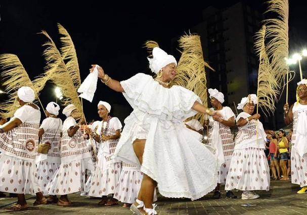 Cortejo Afro (Foto: Reprodução )
