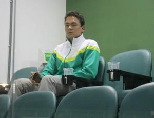 Keirrison sofre nova lesão no joelho direito (Foto: Reprodução/RPC TV)