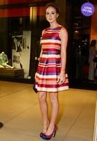 Look do dia: Marina Ruy Barbosa brilha de trança e vestido grifado
