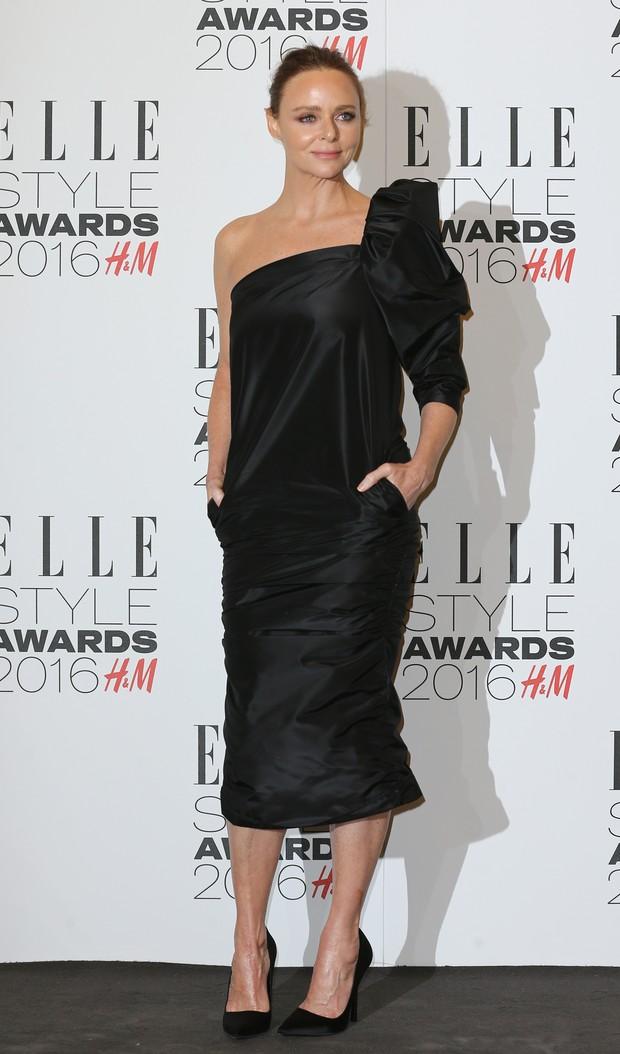 Stella McCartney em premiação em Londres, na Inglaterra (Foto: Justin Tallis/ AFP)